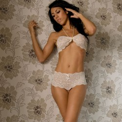 Set Bracli Culotte & Top Creme